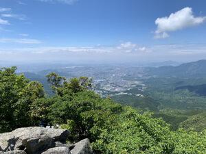 宝満山からの景色